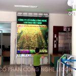 Thi công màn hình Led P3 trong nhà tại BV Đa khoa tỉnh Hòa Bình – 17.000.000 VNĐ/m2